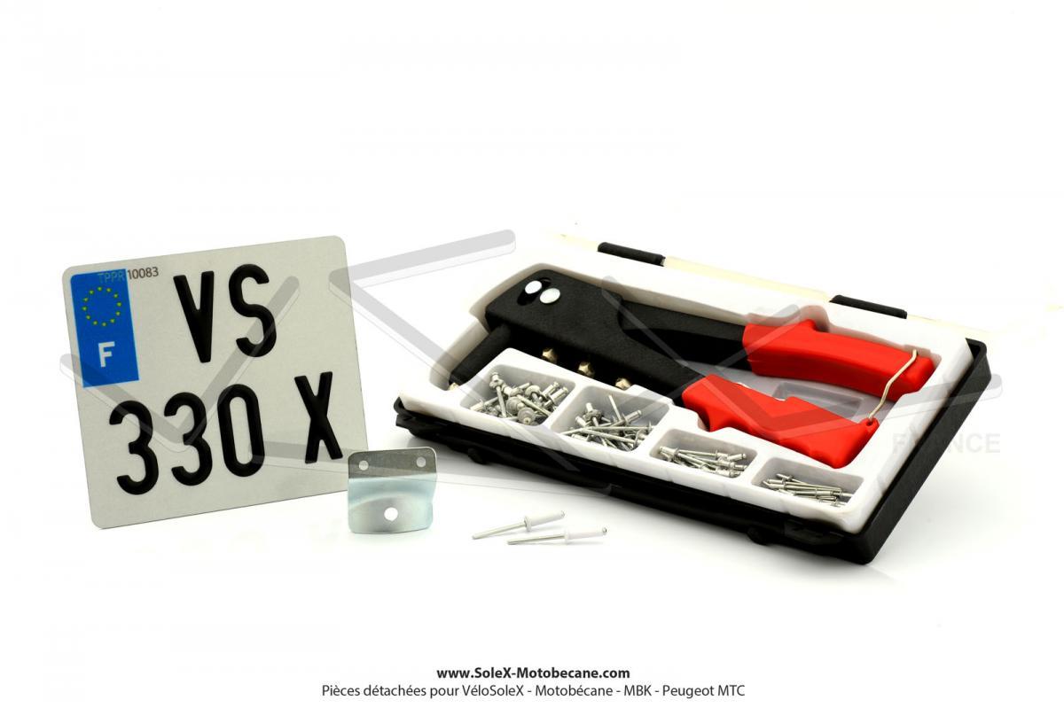 immatriculation pi ces pour velosolex solex motobecane. Black Bedroom Furniture Sets. Home Design Ideas
