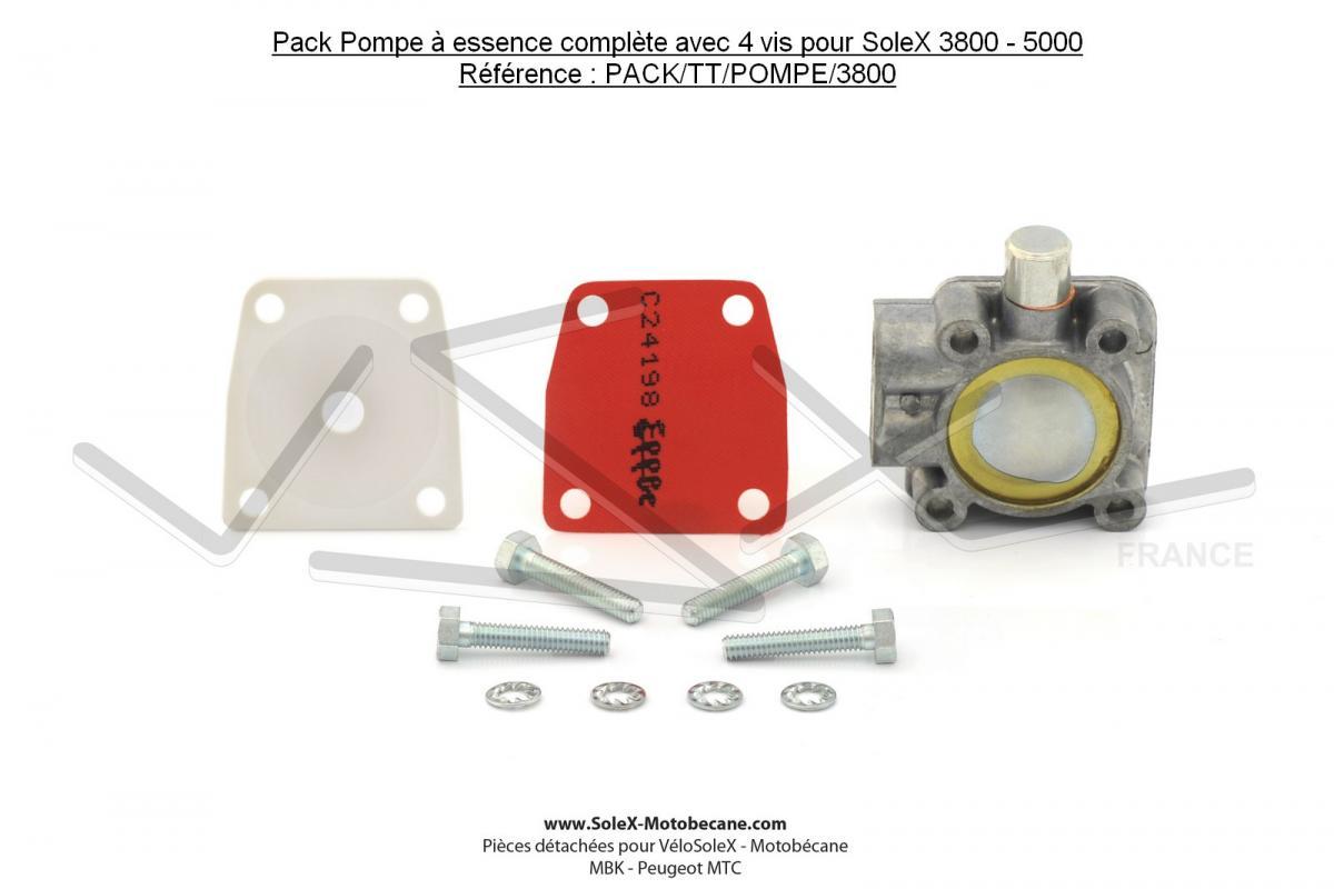 solex 3800 pompe essence