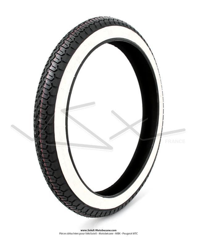 pneu 2 1 4 x 16 flancs blancs sava mitas b8 pneumatiques pi ces pour mobylette. Black Bedroom Furniture Sets. Home Design Ideas