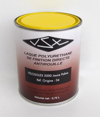 peinture jaune palma r pour solex 5000 pot 1 litre pi ces d tach es pour solex t nor. Black Bedroom Furniture Sets. Home Design Ideas
