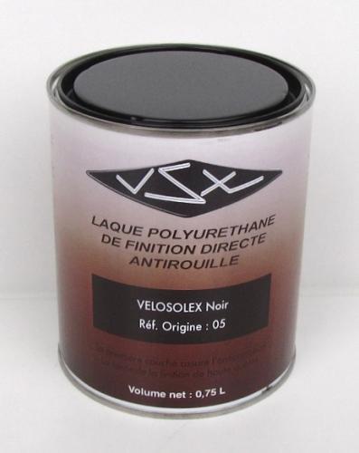 Peinture Origine VéloVap  Peintures & Produits VSX  Solex  ~ Peinture Noire Brillante Pour Bois