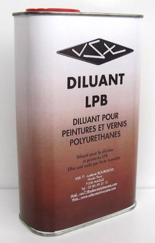 Diluant polyurethane pour tout les vernis
