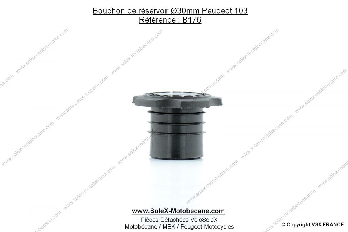 bouchon de r servoir cannel 30mm pour peugeot 103 vogue partie cycle pi ces pour peugeot. Black Bedroom Furniture Sets. Home Design Ideas