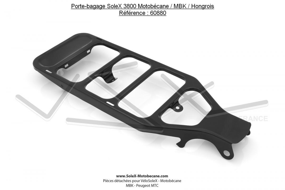 Porte-bagage pour SoleX 3800 Motobécane / MBK / Hongrois