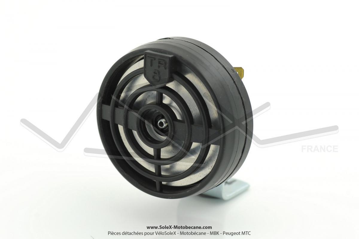 avertisseur klaxon tr8 peugeot 103 6v 10w pi ces d tach es pour solex t nor pi ces pour. Black Bedroom Furniture Sets. Home Design Ideas