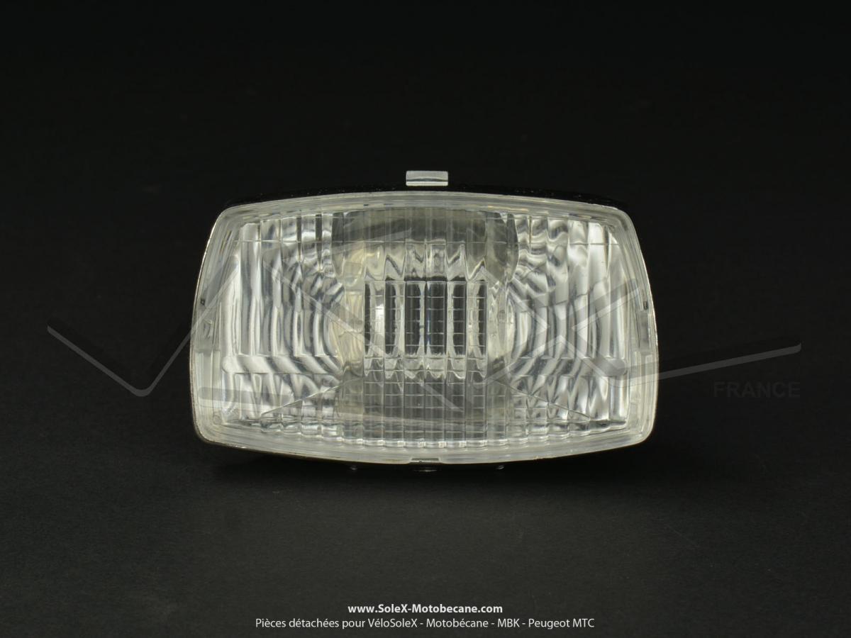 optique de phare type soubitez pour plisolex solex 6000 t nor peugeot 103 104 pi ces. Black Bedroom Furniture Sets. Home Design Ideas