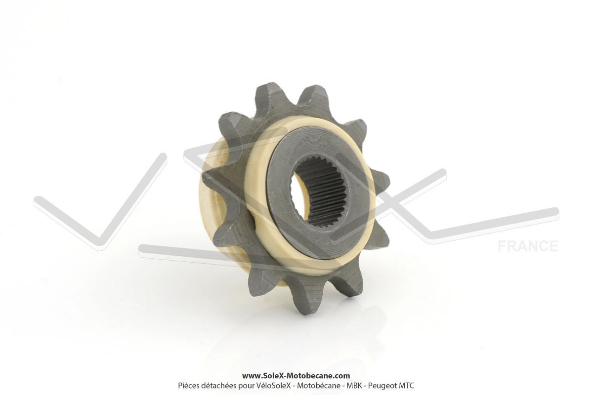 pignon de chaine moteur 10 dents peugeot spx rcx pignons pi ces pour peugeot 101 102. Black Bedroom Furniture Sets. Home Design Ideas