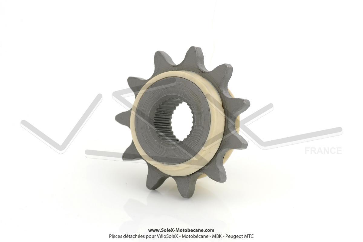 pignon de chaine moteur 11 dents peugeot spx rcx pignons pi ces pour peugeot 101 102. Black Bedroom Furniture Sets. Home Design Ideas