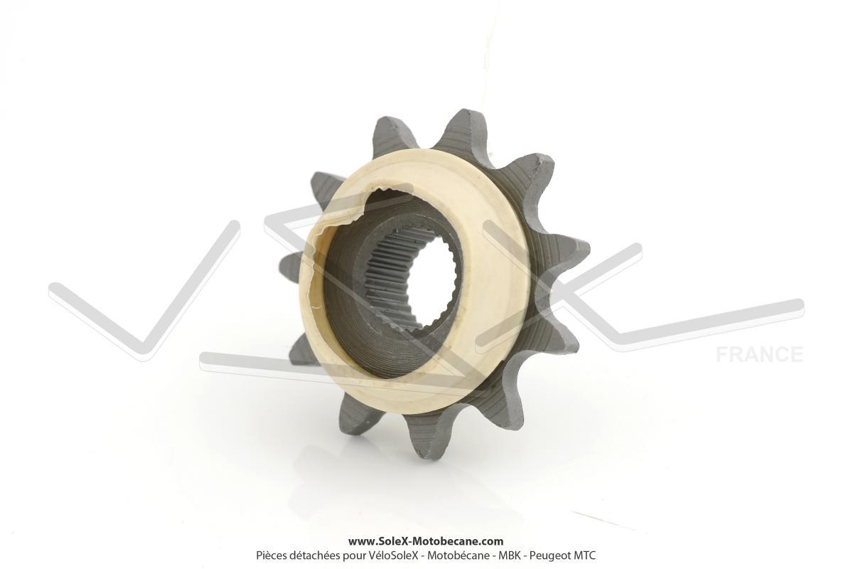 pignon de chaine moteur 11 dents pour peugeot 103 spx rcx pignons pi ces pour peugeot 101. Black Bedroom Furniture Sets. Home Design Ideas
