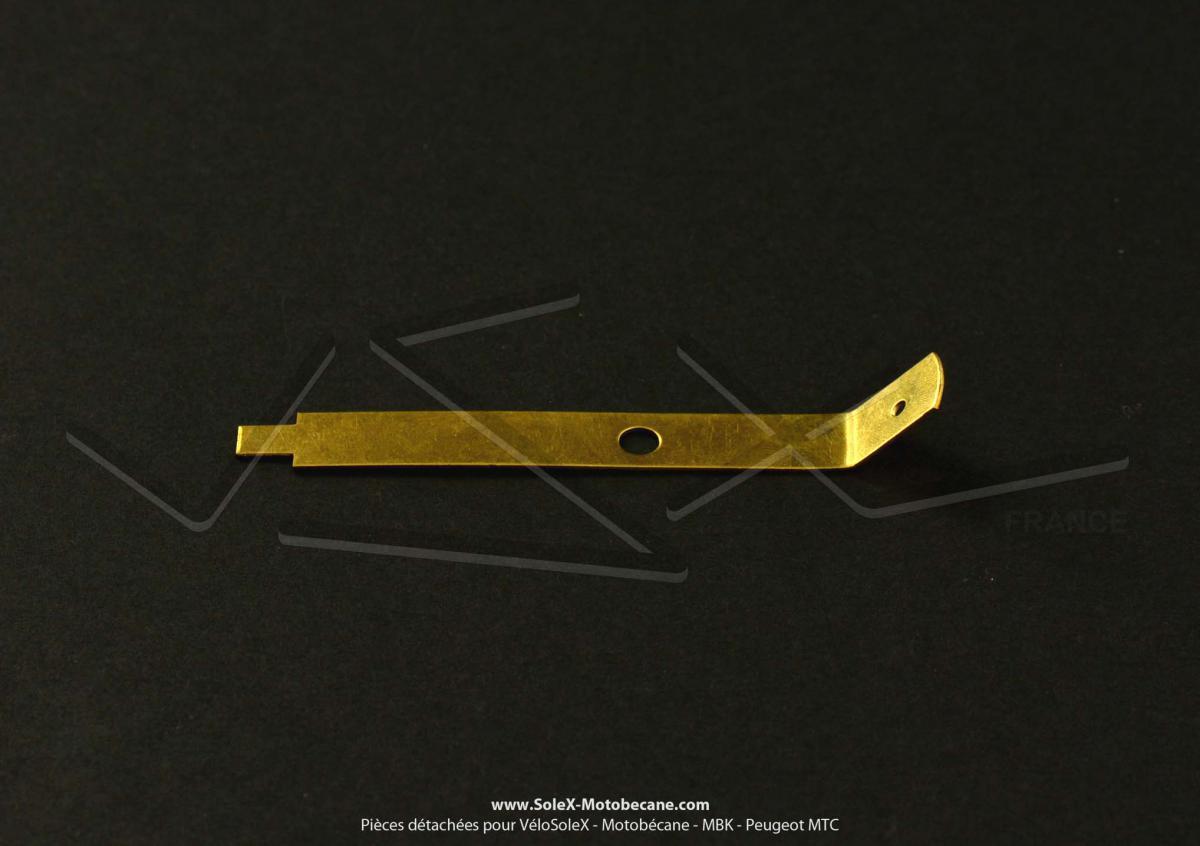 Lamelle de contact de capot phare pour SoleX 3800 Motobécane