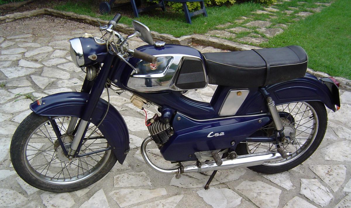 Restauration D Une Motob 233 Cane Av89