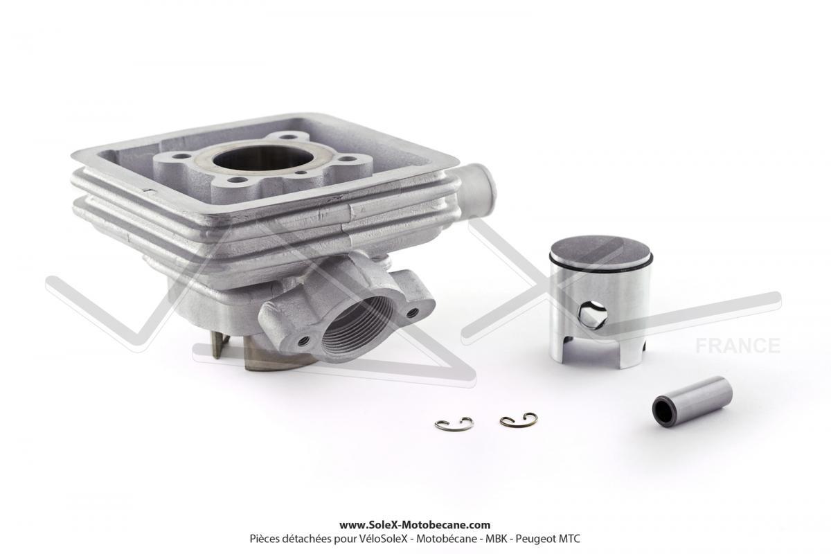 cylindre piston pour peugeot 103 spx rcx refroidissement liquide h2o couleur alu. Black Bedroom Furniture Sets. Home Design Ideas