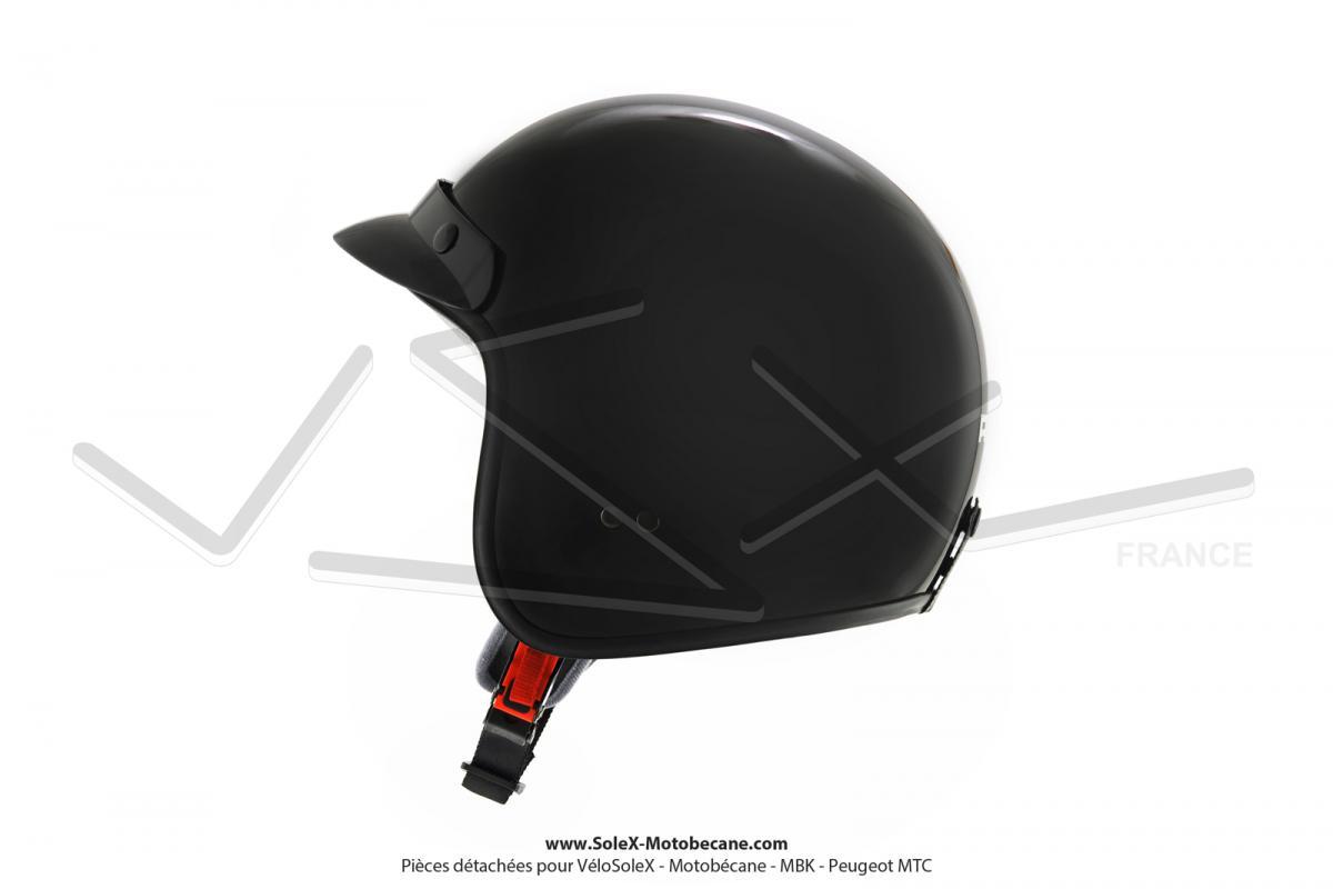 Casque Jet Noir brillant ADX taille XXL - Pièces détachées pour ... 60f80b439782