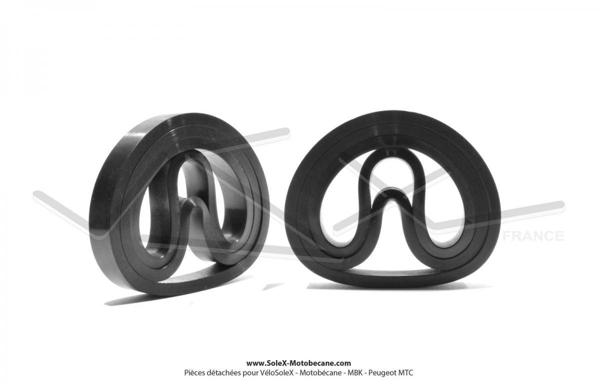 amortisseurs anneaux lastiques de fourche balancier pour mobylette motob cane motoconfort. Black Bedroom Furniture Sets. Home Design Ideas