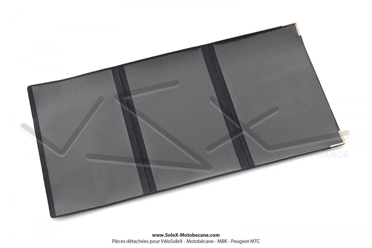 porte carte grise solex noir et or su dine vsx france pi ces d tach es pour solex flash 6000. Black Bedroom Furniture Sets. Home Design Ideas
