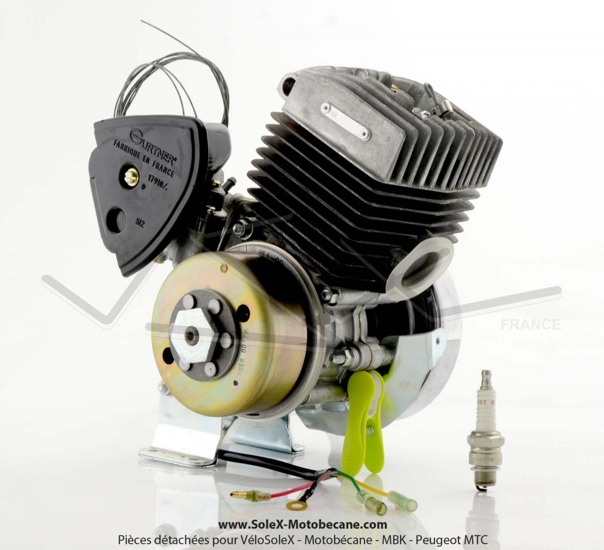 moteur solex sans embrayage