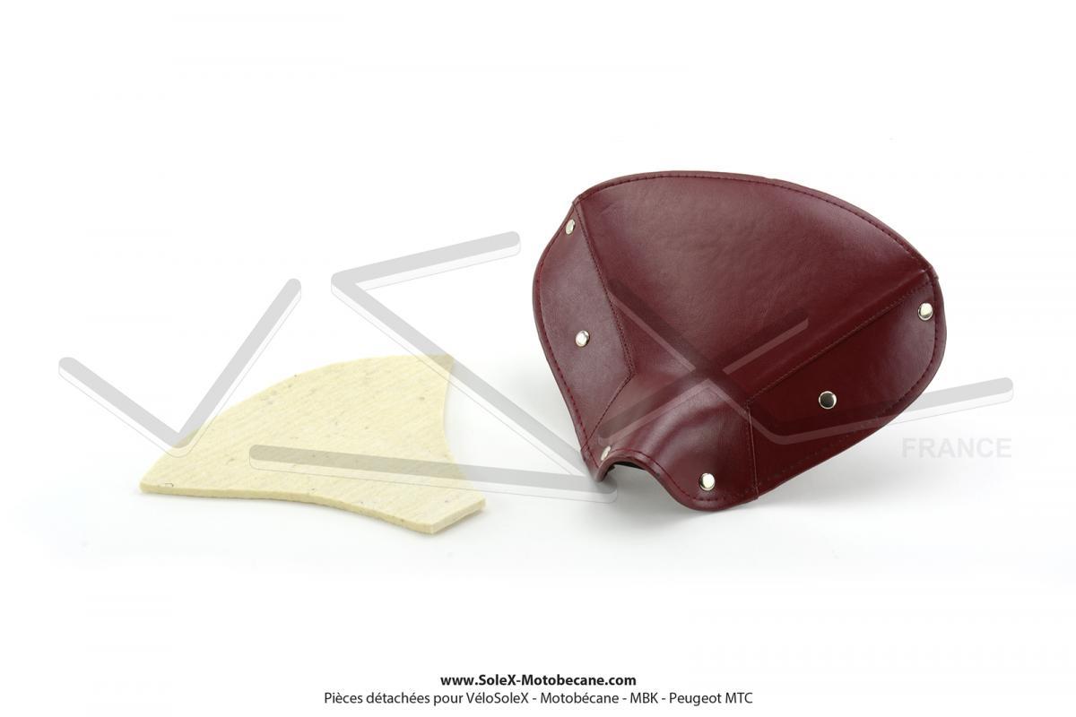 Dessus de selle marron clair adaptable Mobylette Motobécane