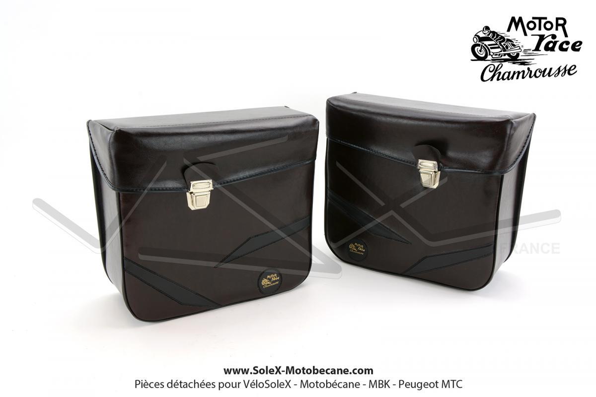 sacoches bagagerie pi ces pour mobylette motobecane mbk solex motobecane. Black Bedroom Furniture Sets. Home Design Ideas